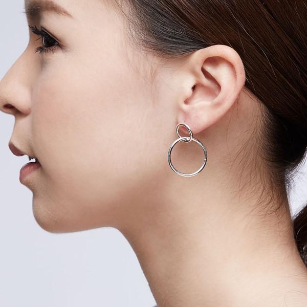 經典雙圈圈耳環/一對販售