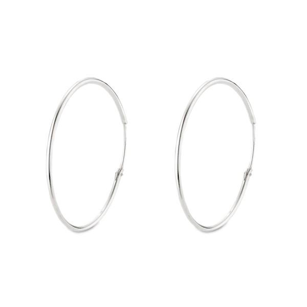 歐美大圓圈簡約耳環/一對販售