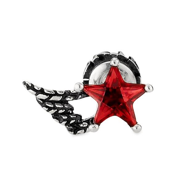 星星之翼單鑽耳環/單隻販售