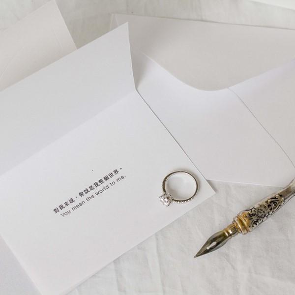 品牌典藏卡 飾品禮物包裝