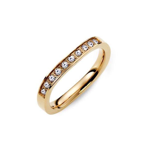 優雅曲線經典時尚款戒指