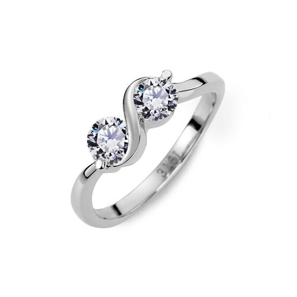 丰華年代奢華淑女 西德鋼 女款戒指飾品