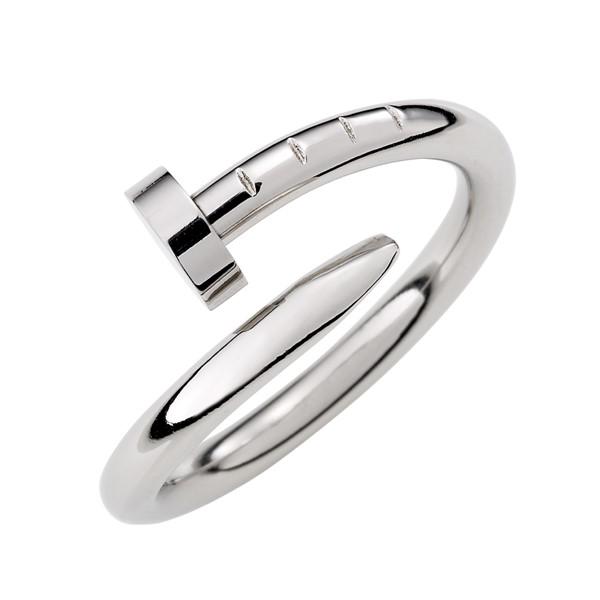 歐美經典釘子造型個性戒指