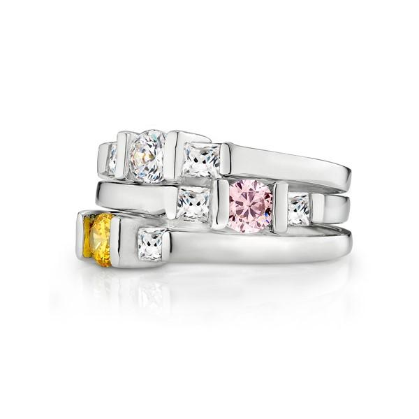 十二奇運石戒指