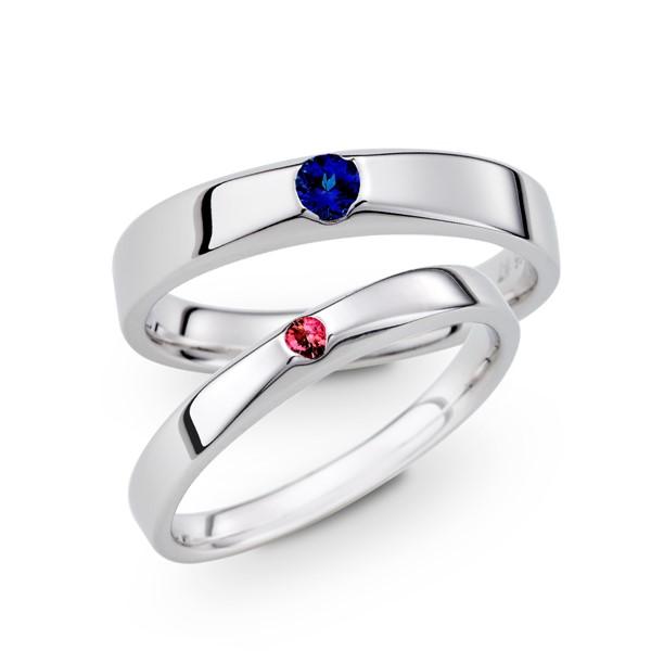 長相廝守 寶石 結婚對戒