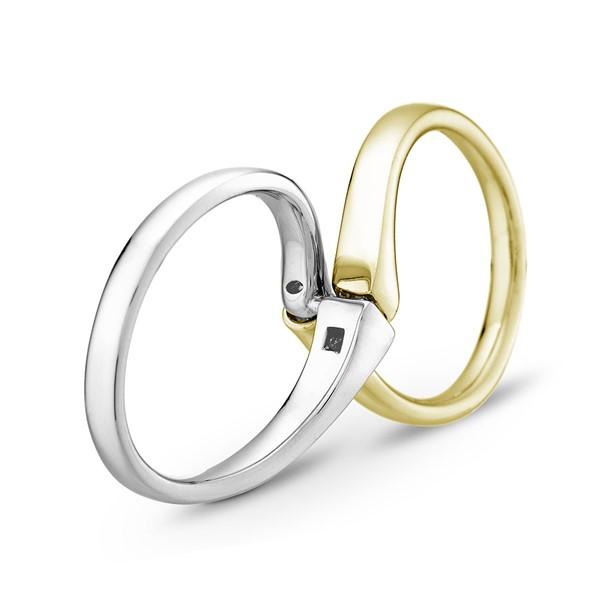 無限的愛 寶石 結婚對戒