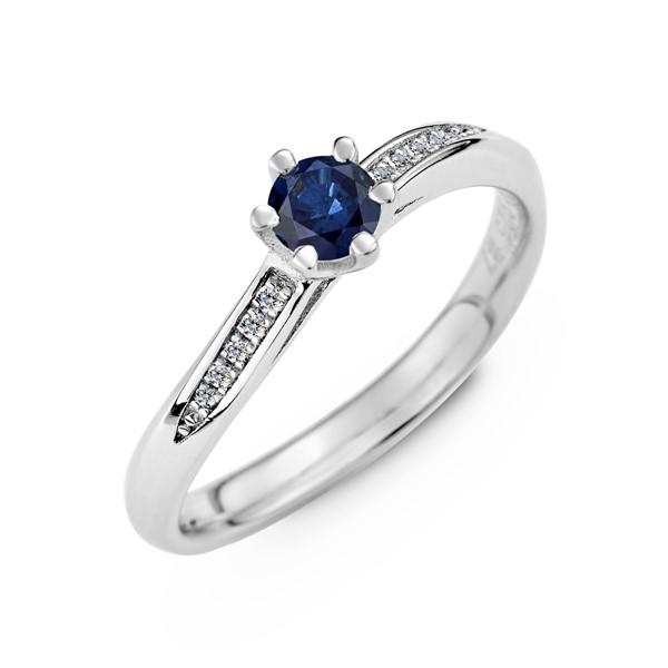 愛的宣言 純銀 30分寶石戒指