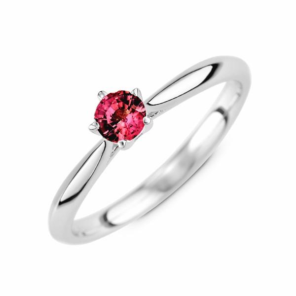 愛的承諾 純銀 30分寶石戒指