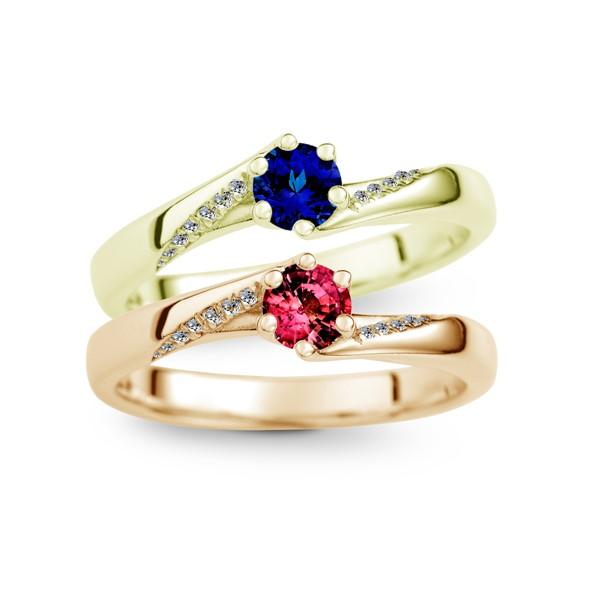 愛萌芽 純銀 30分寶石戒指