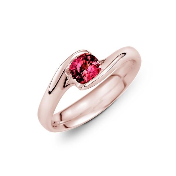 獨享愛情 純銀 50分寶石戒指