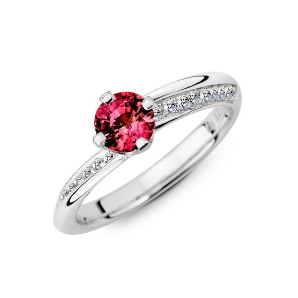 一生的盼望 純銀 50分寶石戒指