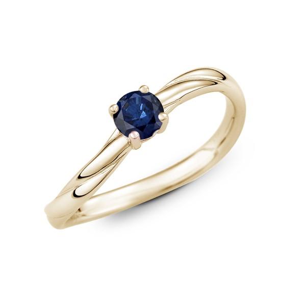 生命中的摯愛 純銀 30分寶石戒指