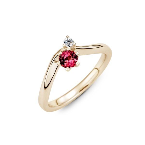 醞釀愛情 純銀 30分寶石戒指