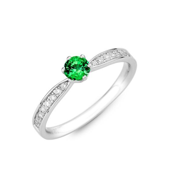純白愛戀 30分寶石戒指