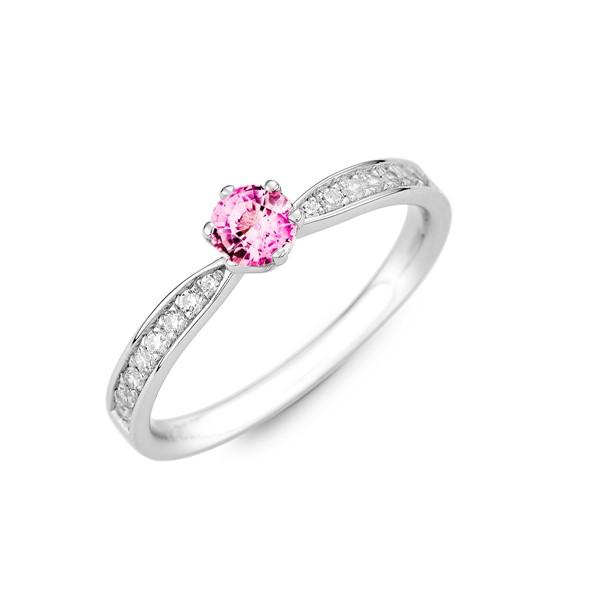 純白愛戀 純銀 30分寶石戒指
