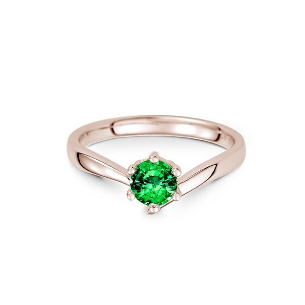 無限的幸福  純銀 50分寶石戒指