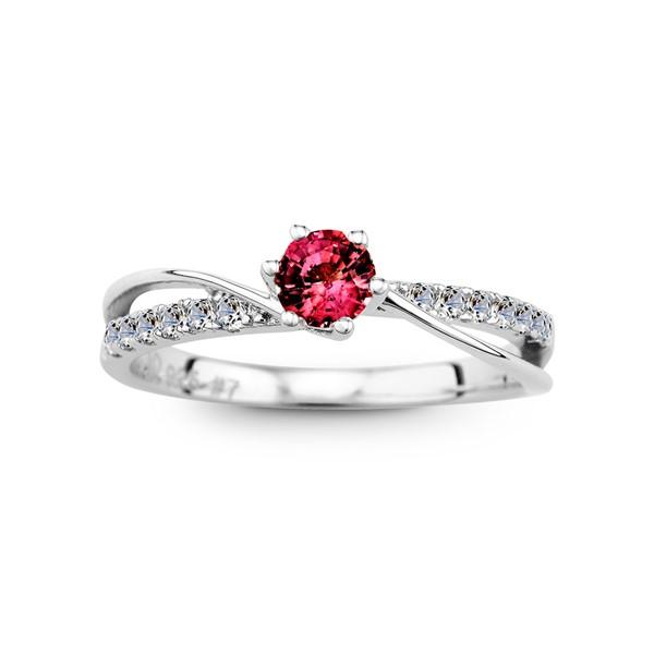 愛的領航員 純銀 30分寶石戒指