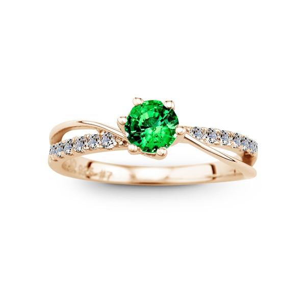 絕美設計璀鑽 50分寶石戒指