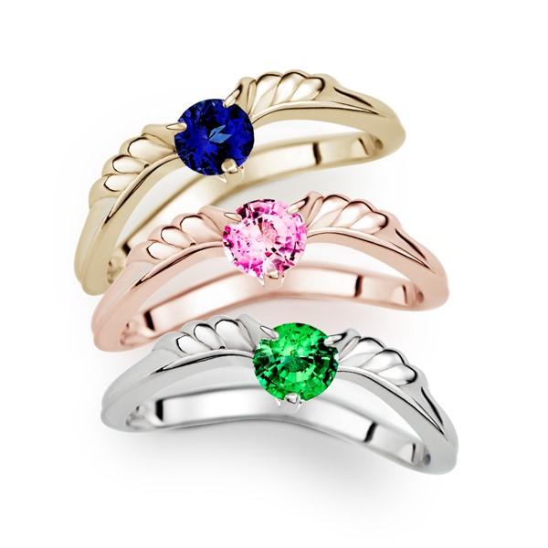 神所預定天使光耀 30分寶石戒指