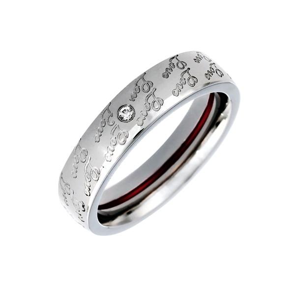 月老紅線異國的邂逅 西德鋼 女款戒指飾品