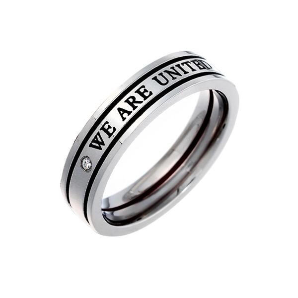 月老紅線愛的真諦 西德鋼 女款戒指飾品