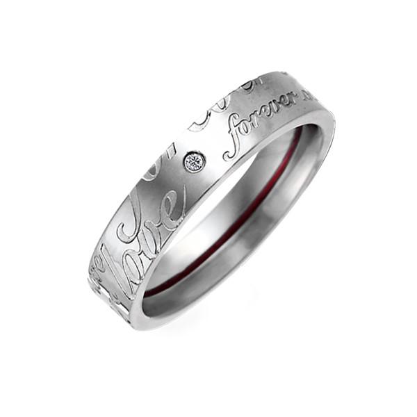 月老紅線愛的牽繫戒指