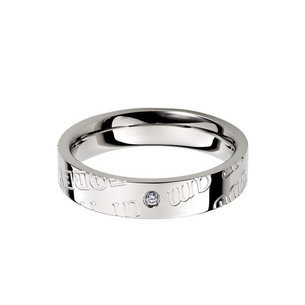 愛的印記愛相隨 西德鋼 女款戒指飾品