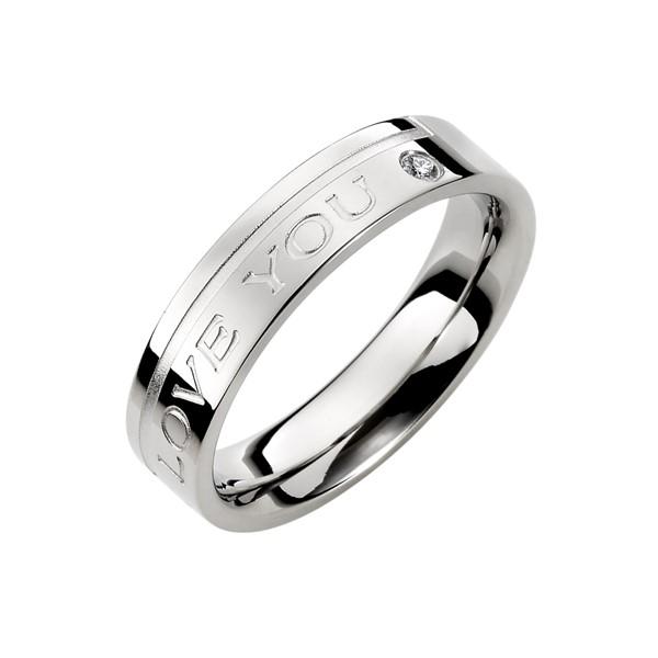 愛的印記愛你到永遠 西德鋼 女款戒指飾品