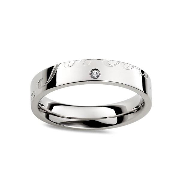 愛的印記無限的愛戒指
