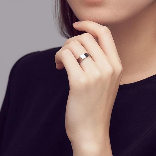 基本方型造型 西德鋼 女款戒指飾品