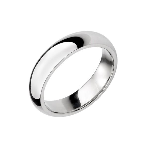 經典素面弧面情侶戒指