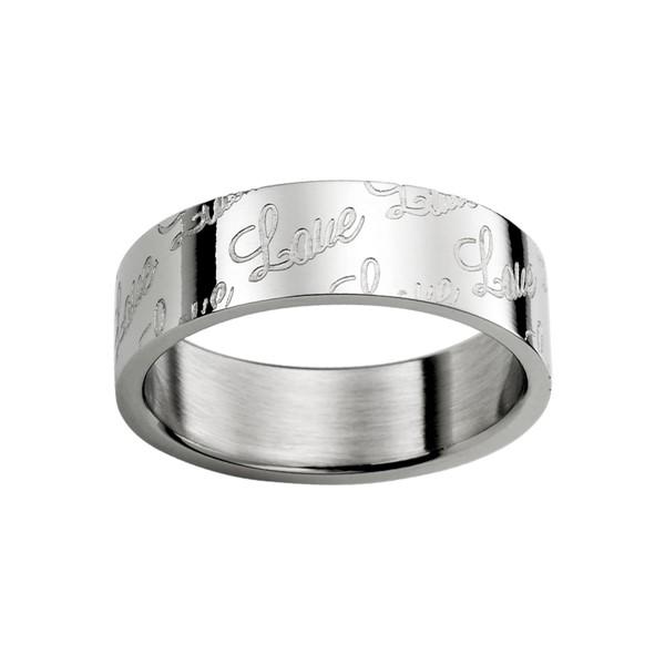 相知相守 西德鋼 男款戒指飾品
