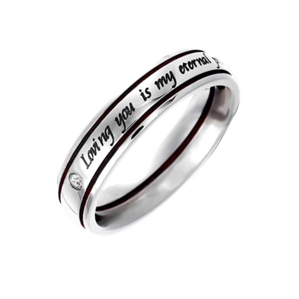 月老紅線永恆誓言戒指