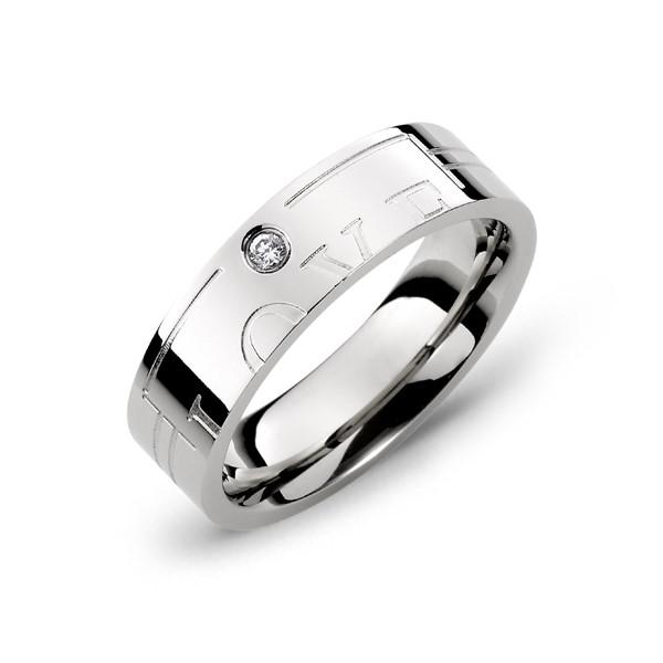 愛的印記愛就在一起戒指