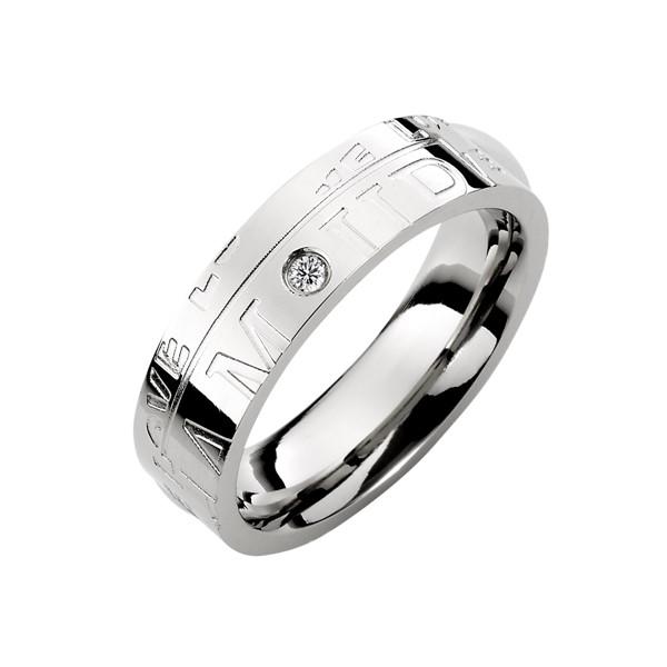 愛的印記我只屬於你戒指
