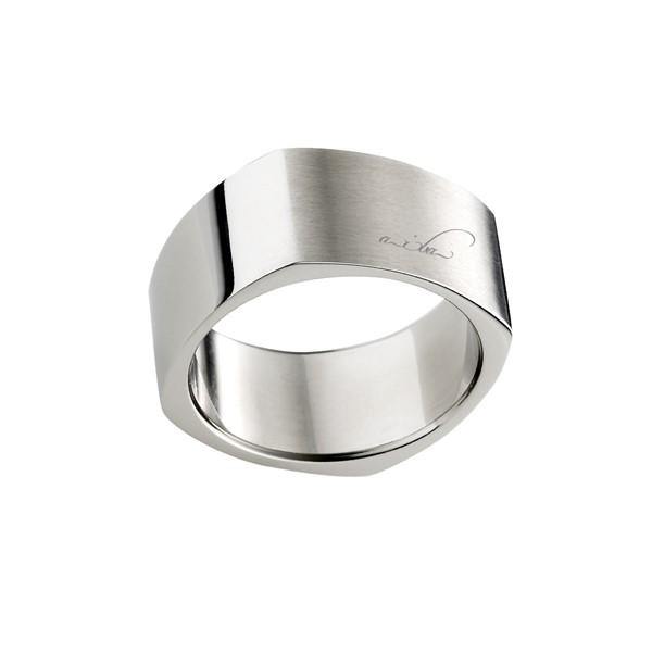 基本方型造型 西德鋼 男款戒指飾品