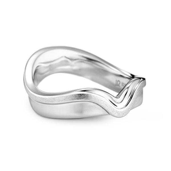 神所預定亞當夏娃 鉑金(白金)鑽石結婚對戒