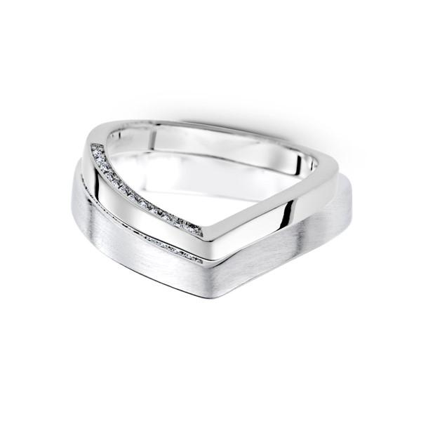 含蓄只與妳 白金(鉑金)鑽石結婚對戒