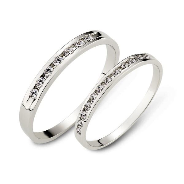 戀愛節奏白金結婚對戒/一對販售