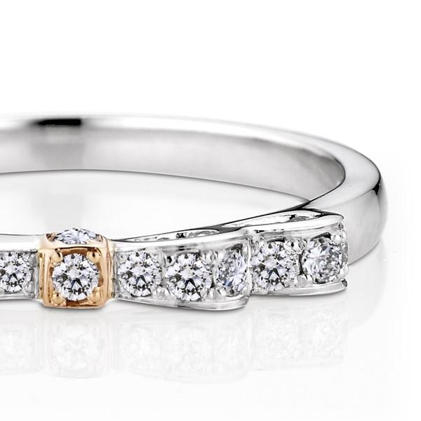 璀璨之星(蝴蝶結款) 鉑金(白金)鑽石結婚對戒