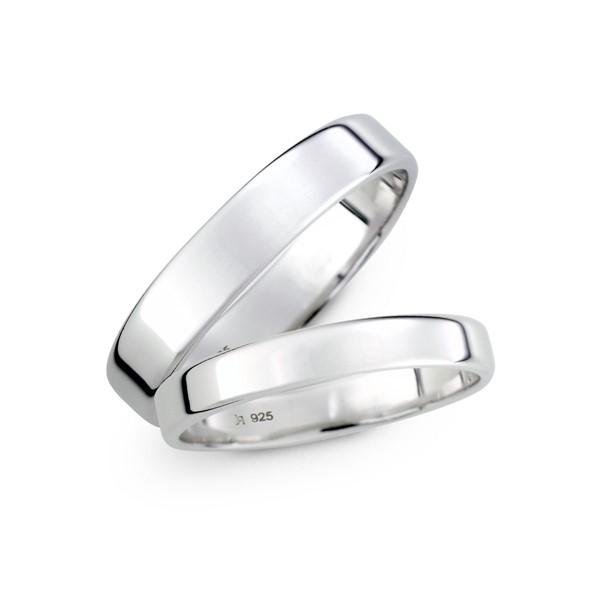 溫柔呢喃素面 鉑金(白金)結婚對戒