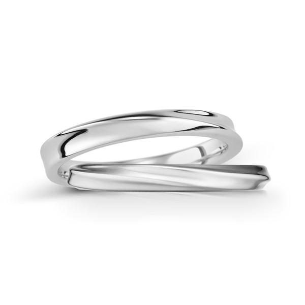 甜蜜愛戀 鉑金(白金)鑽石結婚對戒