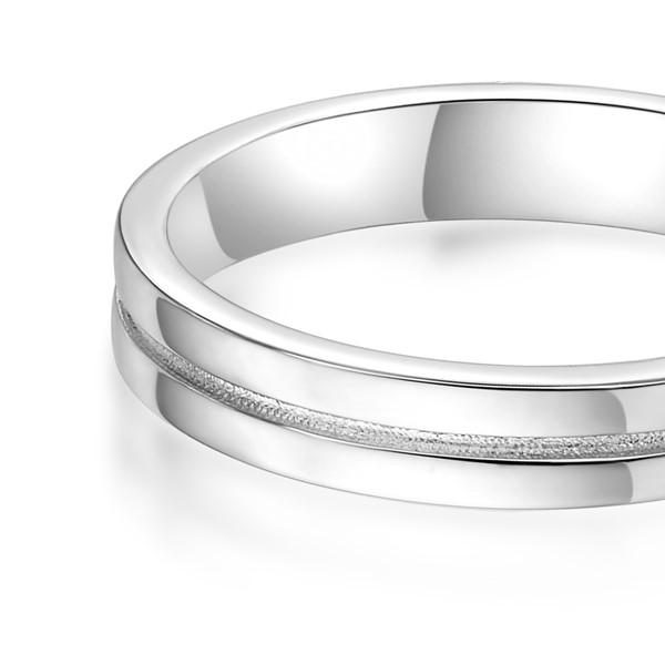 唯獨是你 鉑金(白金)鑽石結婚對戒