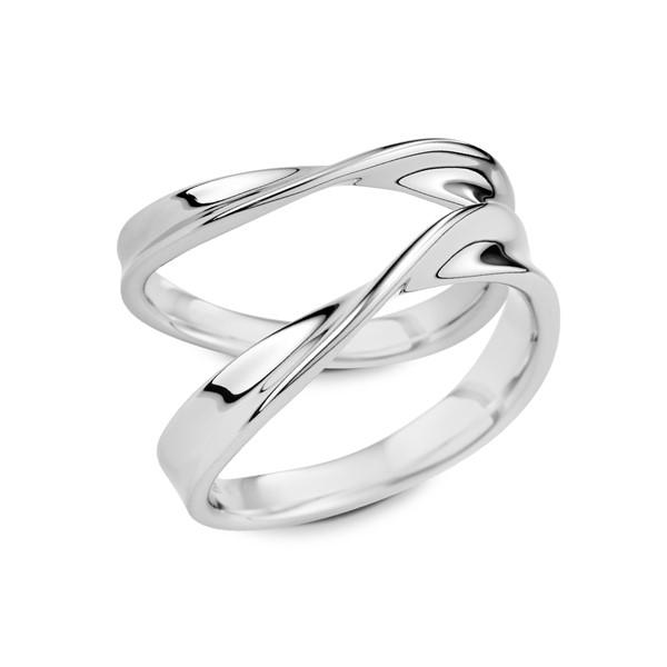 繾綣  鉑金(白金)結婚對戒