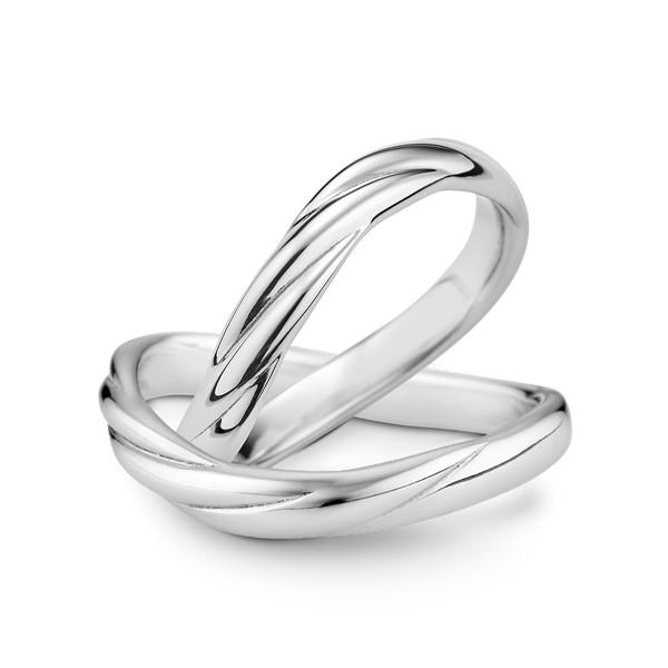 生命中的摯愛 鉑金(白金)結婚對戒