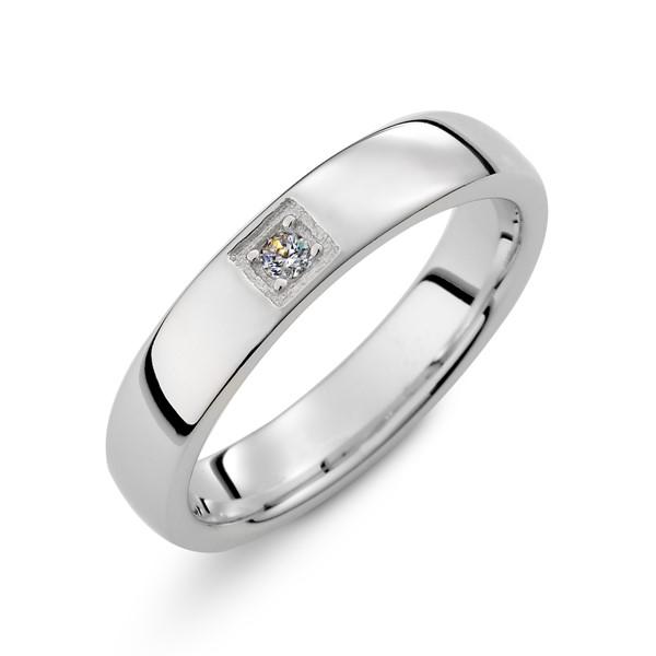 幸福見證白金結婚對戒/一對販售