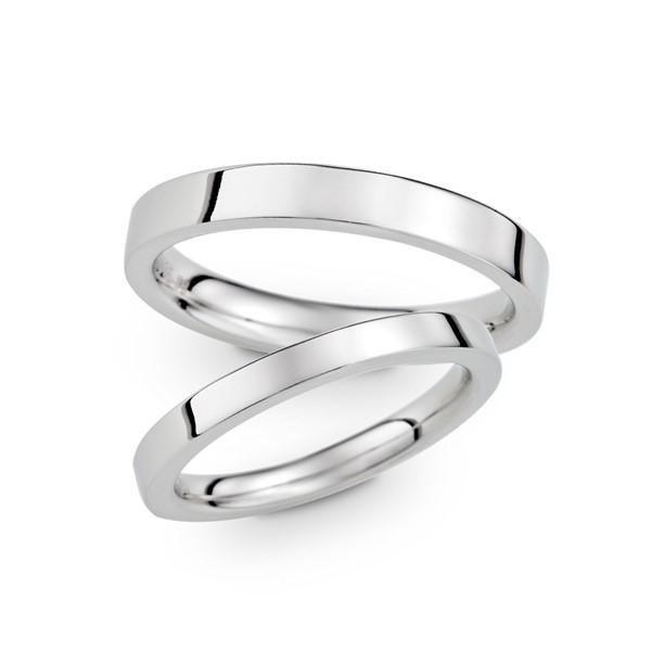 雋永經典刻字推薦款 白金(鉑金)結婚對戒