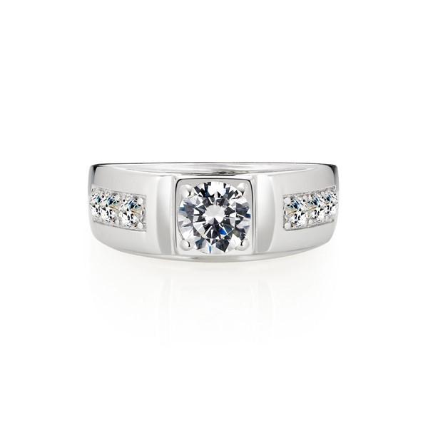 幸福願望達成 鉑金(白金)鑽石結婚對戒