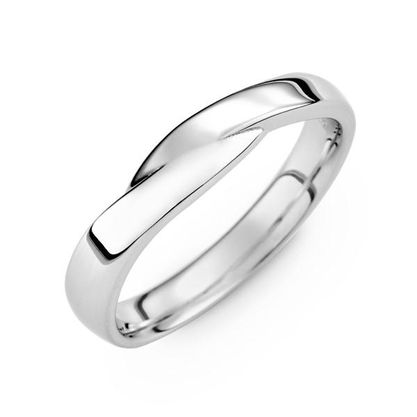 幸運星 鉑金(白金)男款結婚對戒