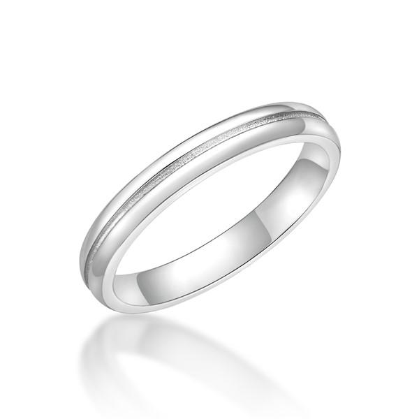 永恆之星 鉑金(白金)男款結婚對戒